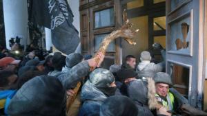 Саакашвили абстрагируется от штурма Октябрьского