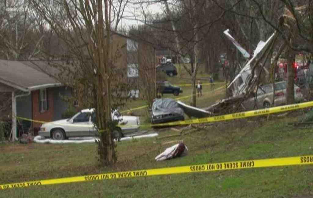 Двухмоторный самолет потерпел крушение вСША