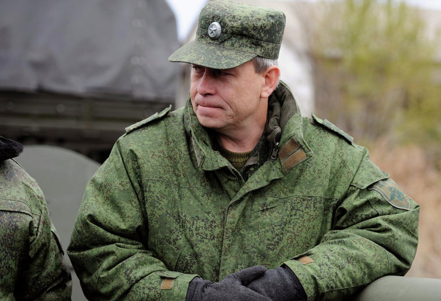 Интервью заместителя  командующего оперативным командованием ДНР Эдуарда Басурина
