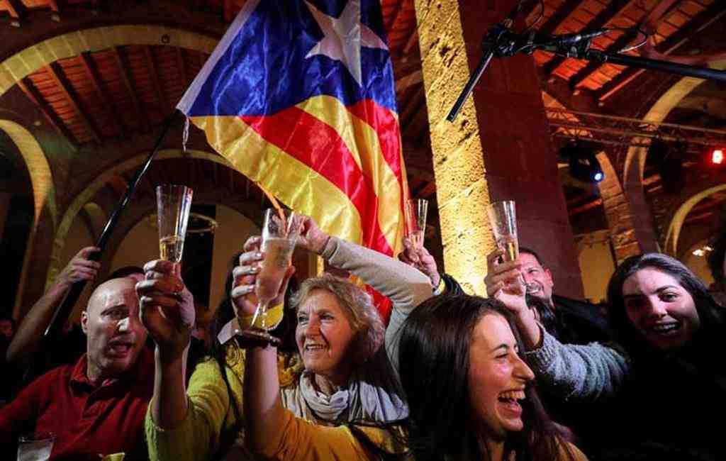 Навыборах вКаталонии лидируют сепаратисты