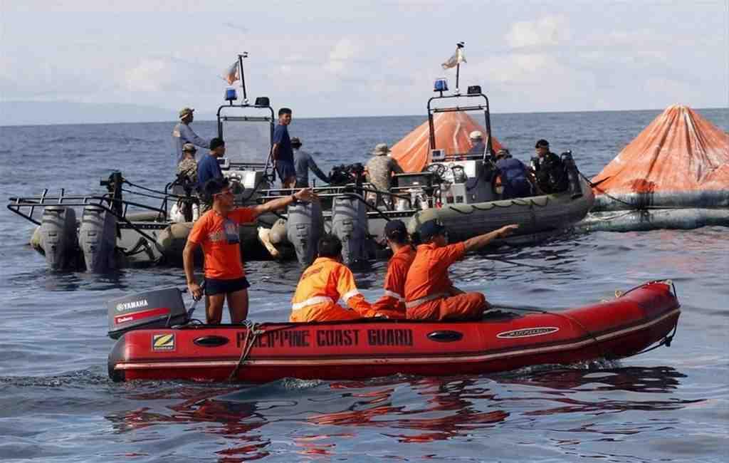 Близ Филиппин затонуло судно ссотнями пассажиров