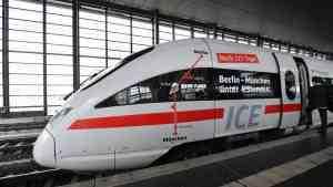 В ФРГ открыта новая высокоскоростная железная дорога