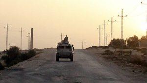 Боевики убили семь полицейских на севере Египта