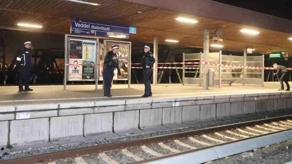 Нажелезнодорожной станции вГамбурге произошел взрыв