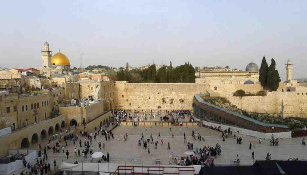 Израиль построит вокзал имени Трампа уСтены плача вИерусалиме
