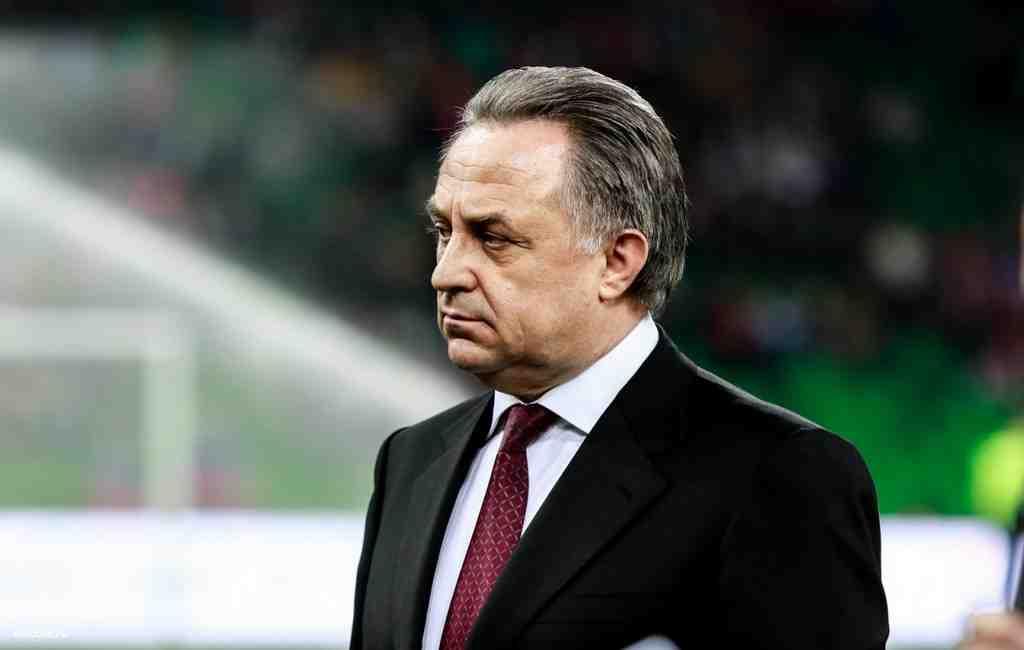 Мутко остановил работу напосту президента русского футбольного союза