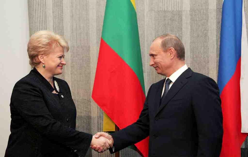 Президент Литвы сообщила, что сРоссией лучше сотрудничать, чем воевать