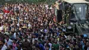 В Бангладеш на похоронах мэра возникла давка