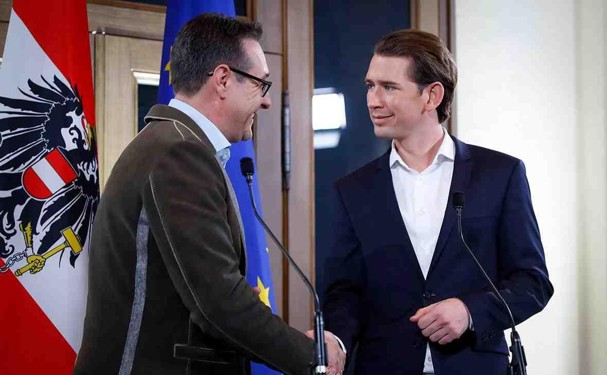Новое руководство Австрии настроено отменить антироссийские санкции