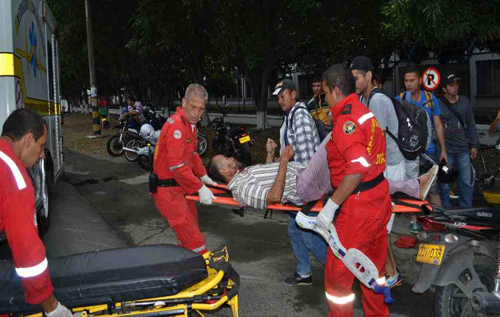 Неменее 30 человек пострадали при взрыве гранаты вночном клубе вКолумбии