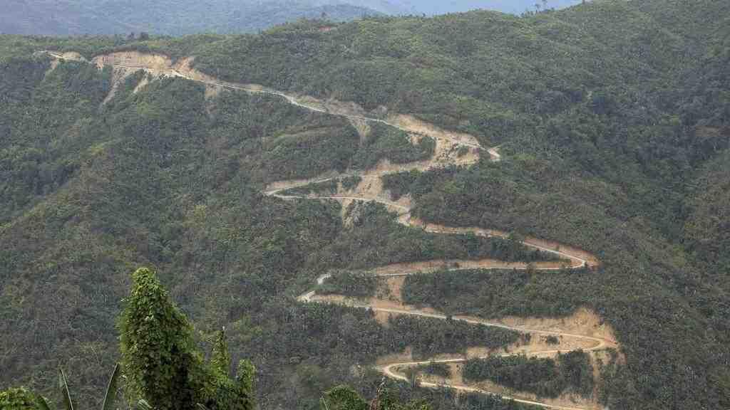 Всеверо-западной части Мьянмы произошло сильное землетрясение