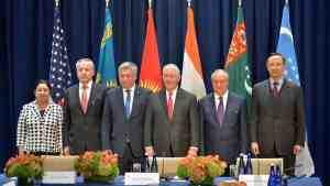 В Нью-Йорке состоялась встреча глав МИД стран Центральной Азии и США
