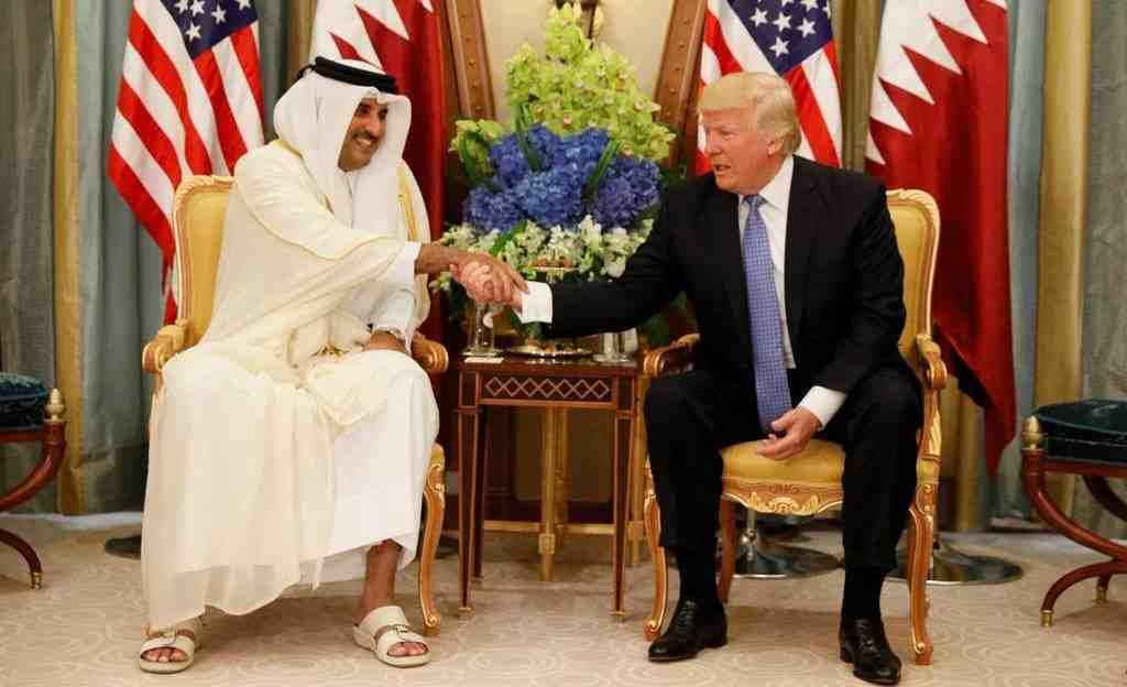 Трамп провел переговоры сэмиром Катара поборьбе стерроризмом