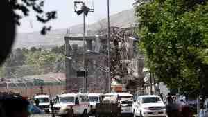 В дипквартале Кабула взорвались две ракеты