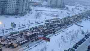 Москву парализовали восьмибалльные пробки