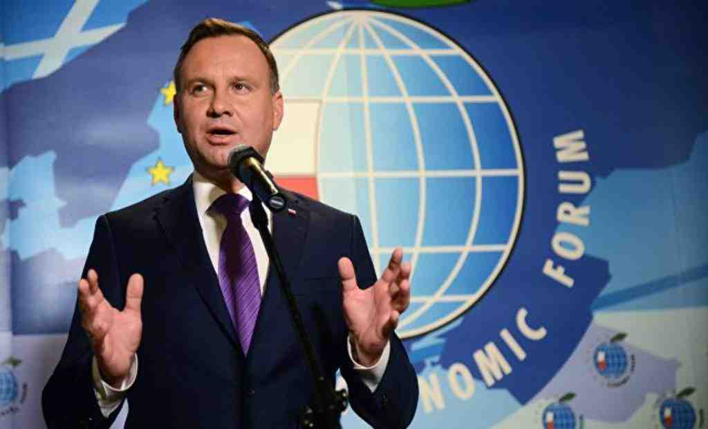 Дуда: Польша желает таковыхже условий покупки русского газа, как Германия