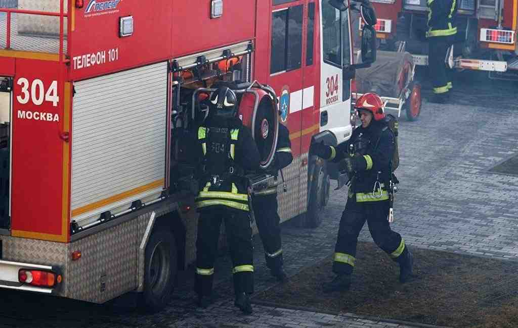 Ресторан горел наПокровке вцентре столицы