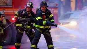 При пожаре в Нью-Йорке пострадали 12 человек
