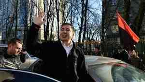 Саакашвили решил отложить протестный марш в Киеве