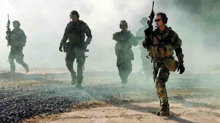 Шестая команда SEAL во время спецоперации