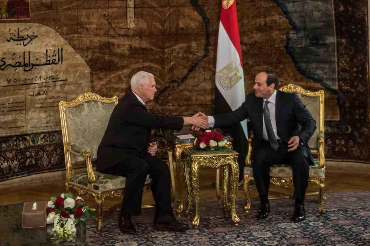 Вице-президент США уходит свизитом наБлижний Восток
