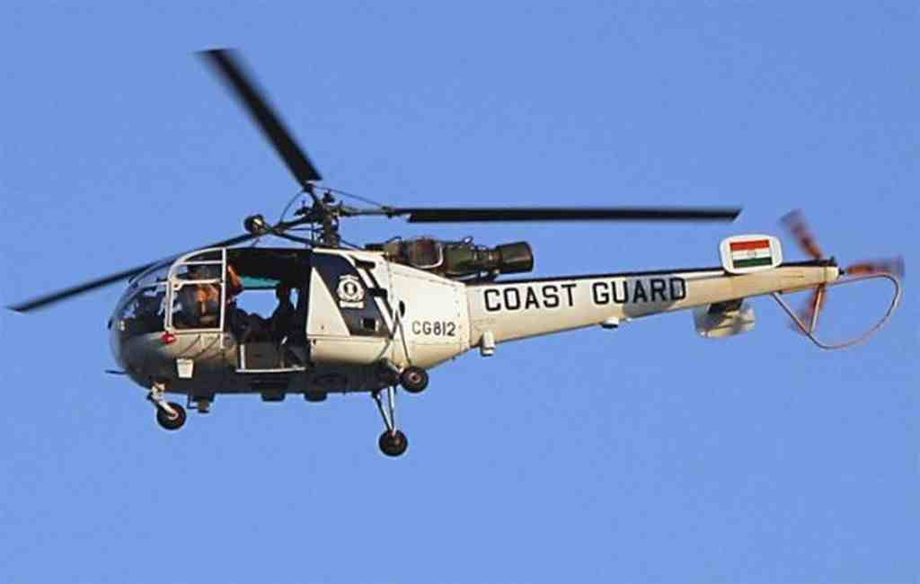 Индийский вертолет потерпел крушение вАравийском море