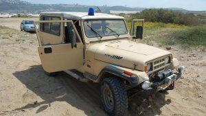 На Западном берегу Иордана подорвался автомобиль армии Израиля