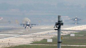 В Турции потерпел крушение военно-тренировочный самолёт