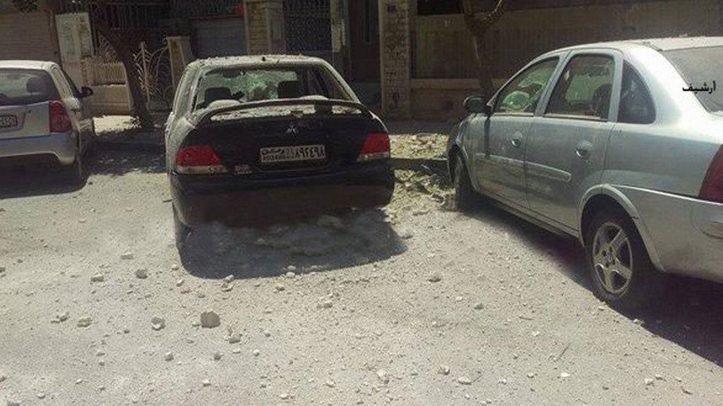 Семеро граждан Дамаска ранены засутки в итоге обстрелов— русские военные