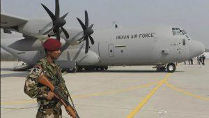 В Индии неизвестный попытался проникнуть на базу ВВС