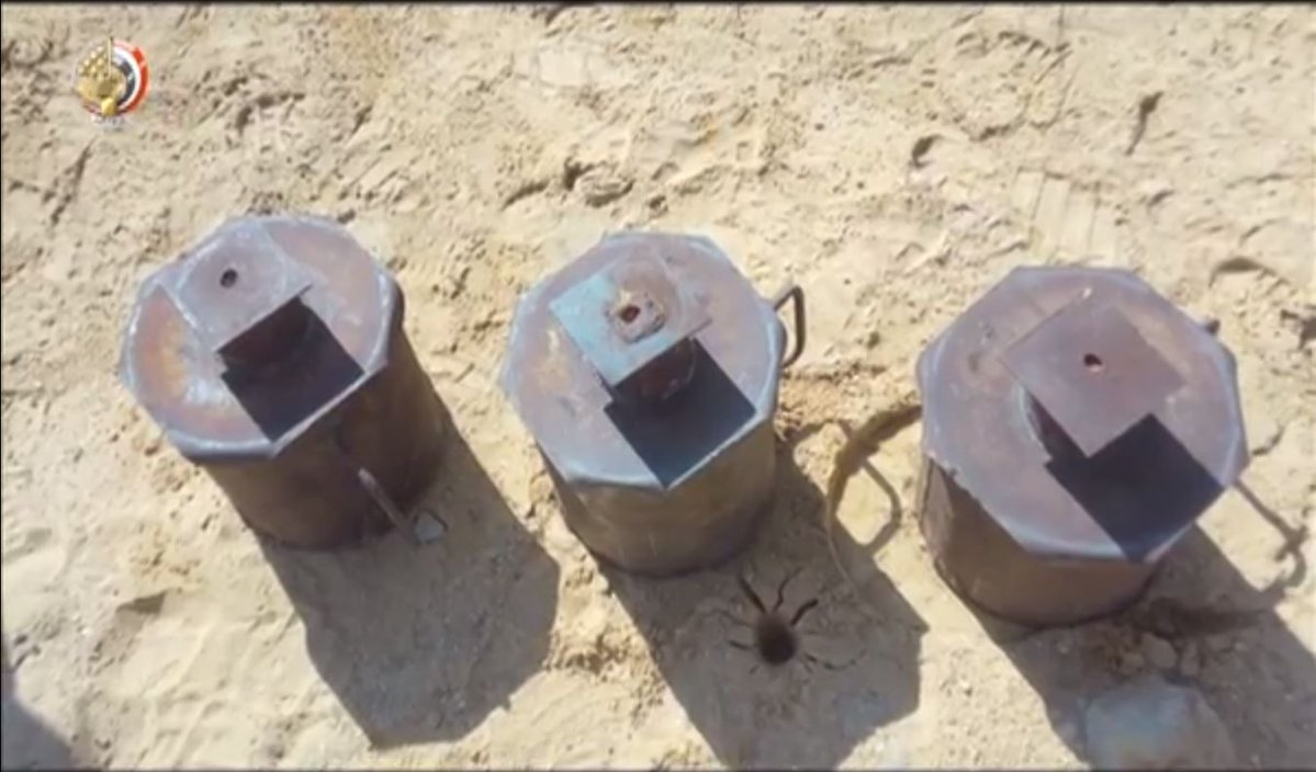 ISIS IEDs, including EFPs, discovered by army in