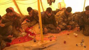 Иракские ополченцы спасли отряд курдов на востоке Сирии