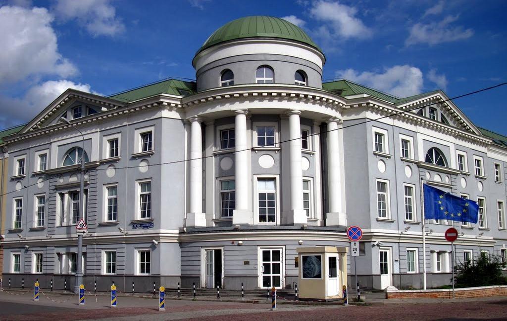 ПостпредствоЕС в российской столице получило конверт сбелым порошком