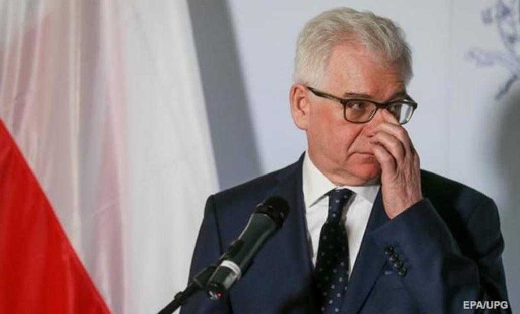 Руководитель МИД Польши: улучшение отношений сРоссией нереально
