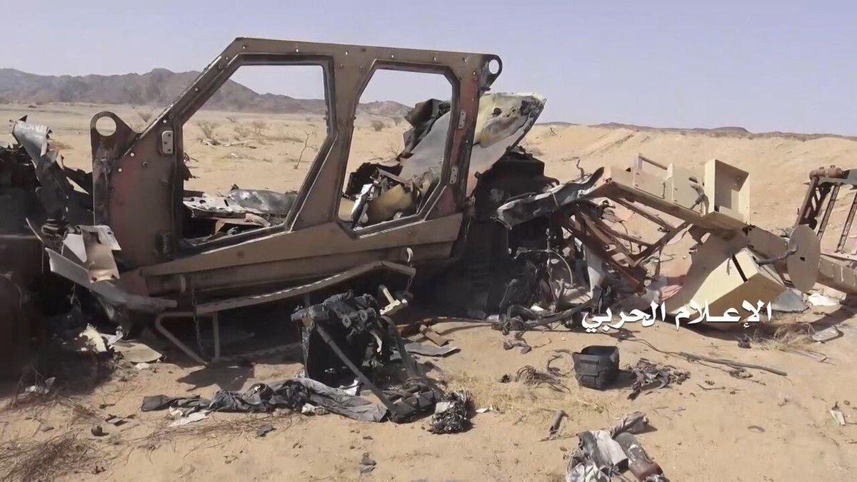 Destroyed-pro-Hadi-forces-Oshkosh-M-ATV-