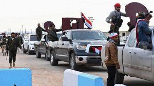 Сирийские войска разместились в Африне, Турция отрицает