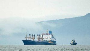 У берегов Китая столкнулись два судна