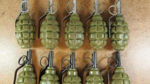 У жителя Таганрога изъяли 36 гранат