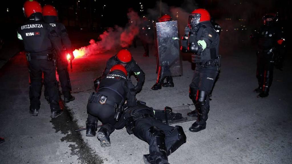 УЕФА осуждает беспорядки вБильбао сучастием болельщиков «Спартака»