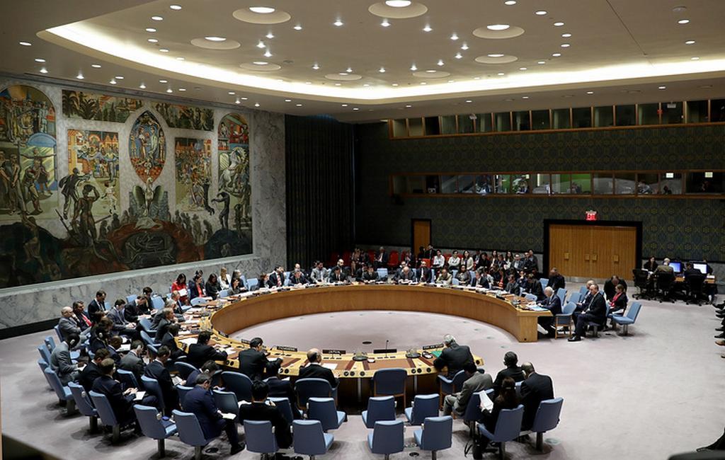 Российская Федерация заблокировала принятие резолюции оперемирии вСирии