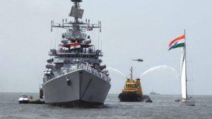 Индия проведёт масштабные военно-морские учения