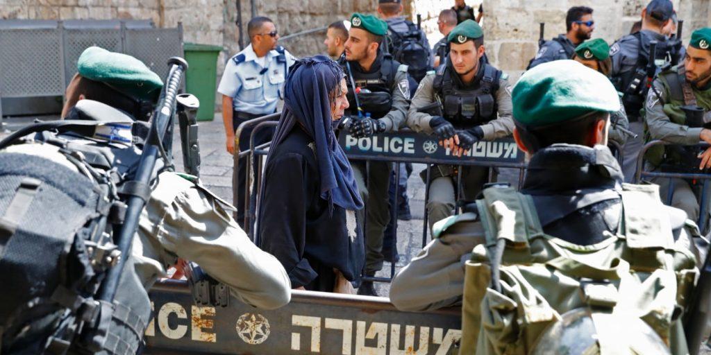Палестинец умер встолкновениях сизраильскими военнослужащими