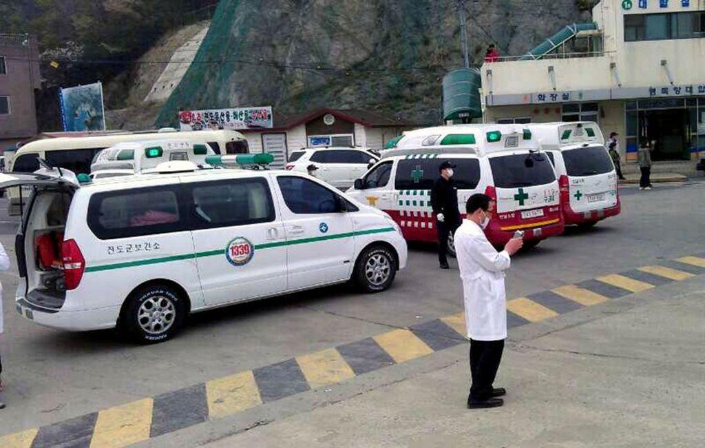 Волимпийском Пхенчхане служащих службы безопасности заменили военные