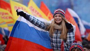 В Симферополе прошёл митинг против санкций