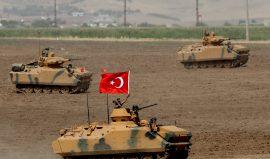 Потери армии Турции за сутки составили 7 человек