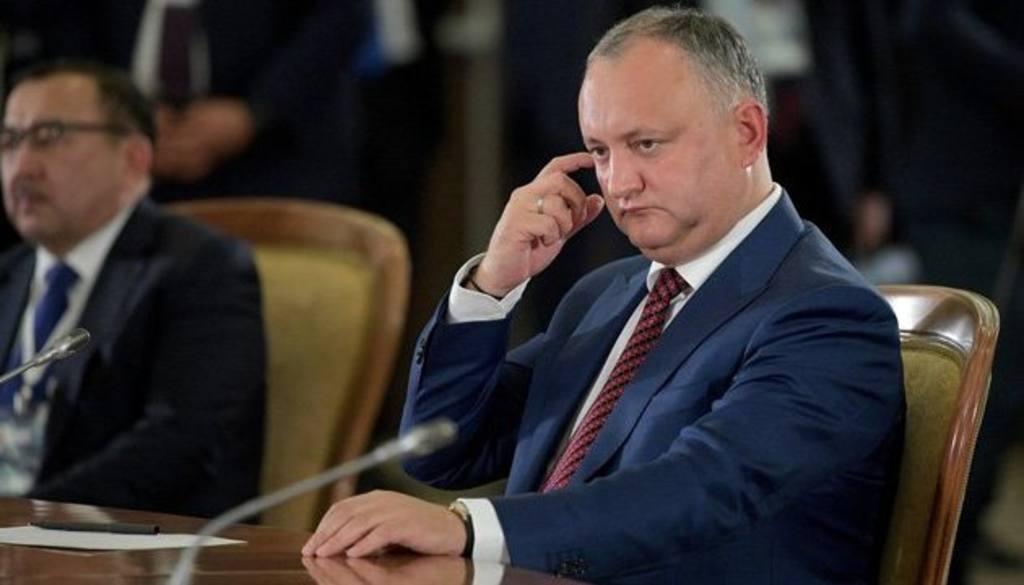 При остановке транзита газа через государство Украину сложится форсмажорная ситуация - Додон