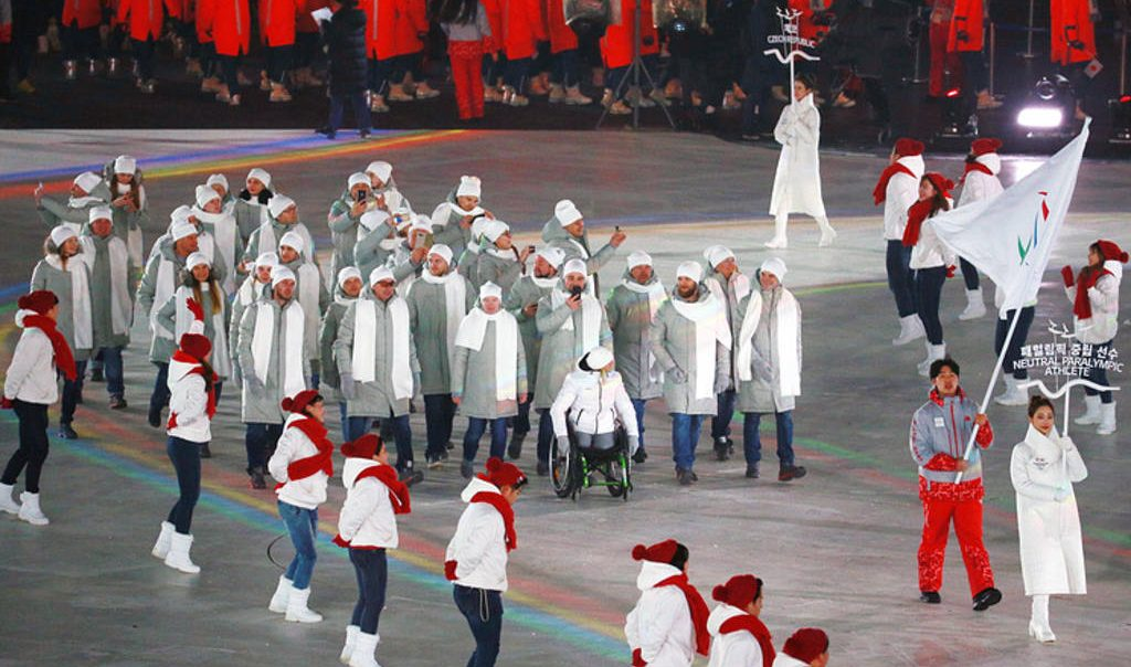 Российские паралимпийцы прибыли в Пхёнчхан для подготовки к соревнованиям