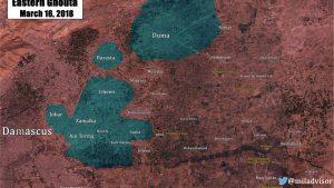 Сирийская армия освободила ещё два посёлка в Восточной Гуте