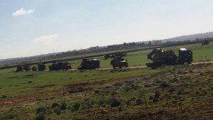 Турция начала создавать военную базу в 12 км от Алеппо