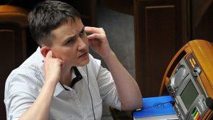 Верховная Рада Украины поддержала арест Савченко